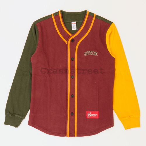 Color Blocked Baseball Top