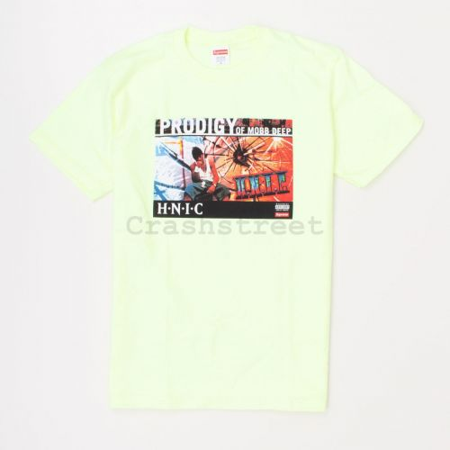 HNIC Tee in Yellow