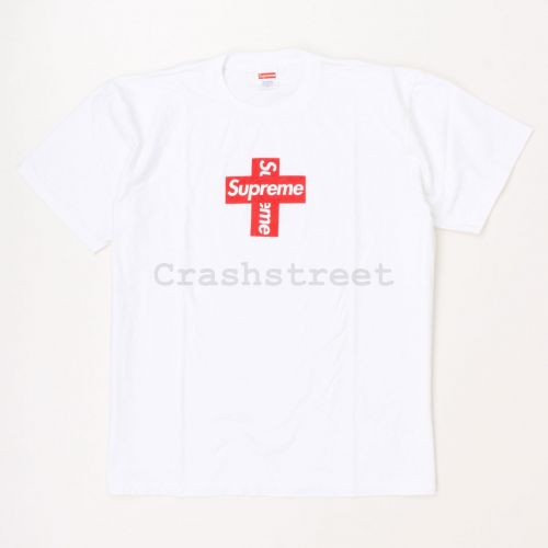 Cross Logo Tee in White
