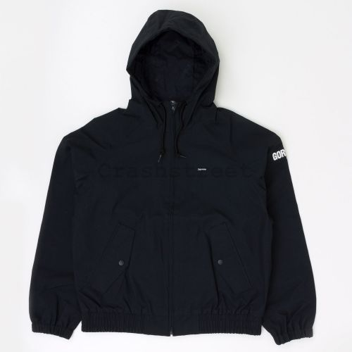 GORE-TEX Hooded Harrington Jacket in Black