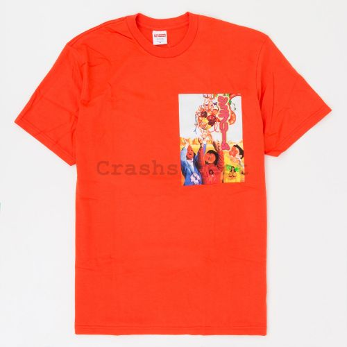 Sekintani Tee in Orange