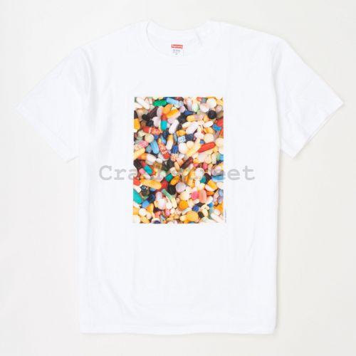 Pills Tee in White