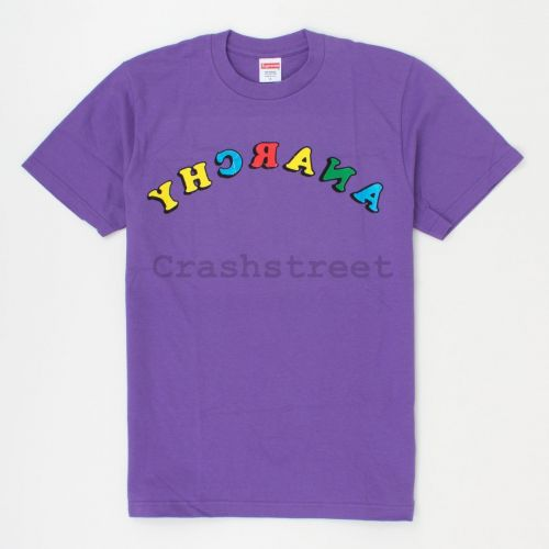 Anarchy Tee in Purple