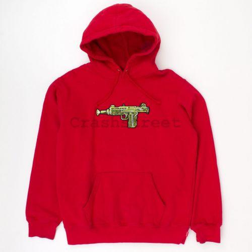 Toy Uzi Hooded Sweatshirt in Red