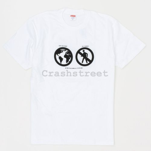 Save The Planet Tee - White