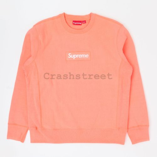 Box Logo Crewneck in Coral