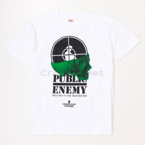 Undercover Public Enemy Terrordome Tee in White
