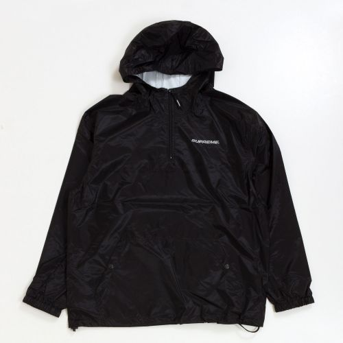 Packable Ripstop Pullover - Black