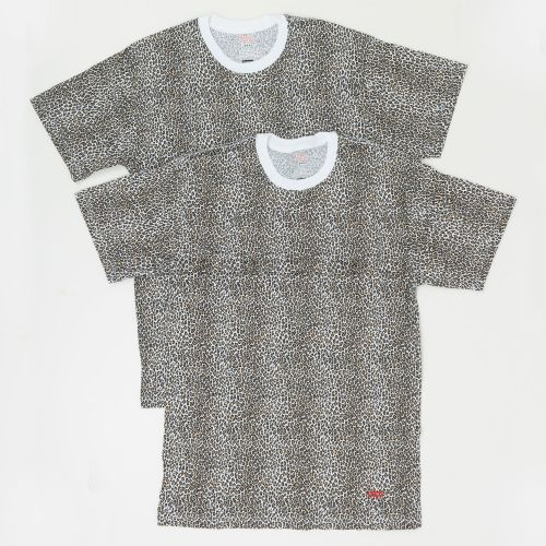 Hanes Leopard Tagless Tees (2 Pack)