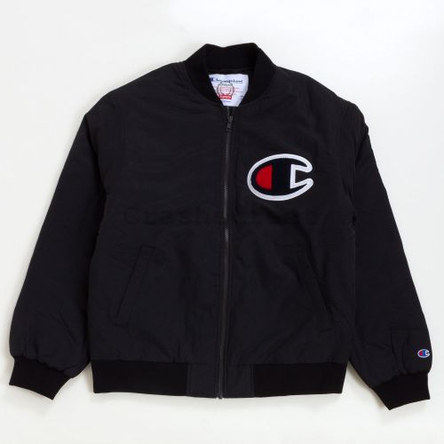 Champion Color Block Jacket in Black