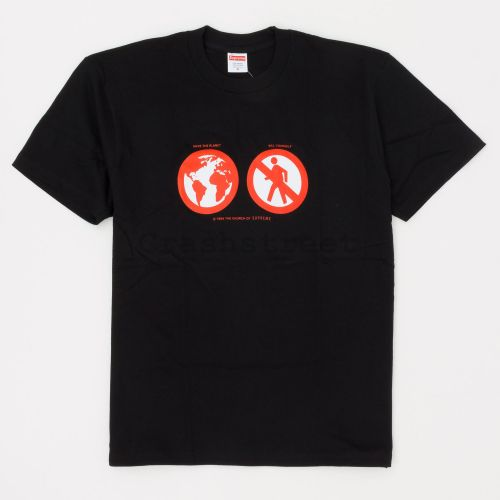 Save The Planet Tee - Black
