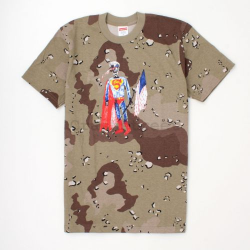 Skeleton Tee in Camo