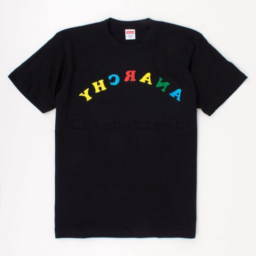 Anarchy Tee in Black