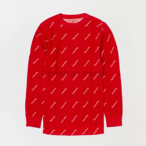 Hanes Thermal Crew (1 Pack) - Red