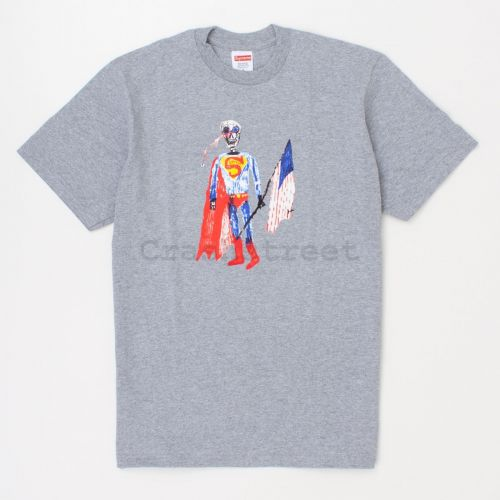 Skeleton Tee in Grey