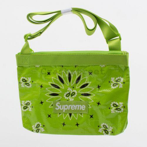 Bandana Tarp Side Bag in Green