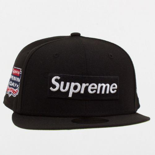 No Comp Box Logo New Era in Black