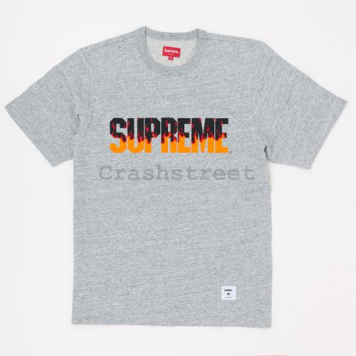 Flame S/S Top in Grey