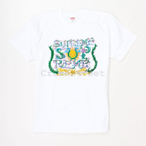 Crest Tee in White