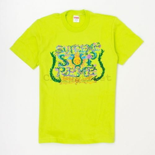 Crest Tee in Green