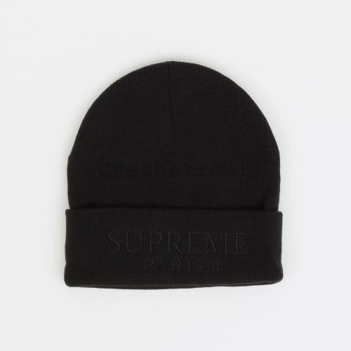 Tonal Logo Beanie in Black