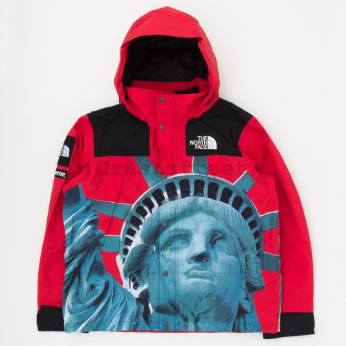 The North Face Statue Of Liberty Mountain Jacket - Red