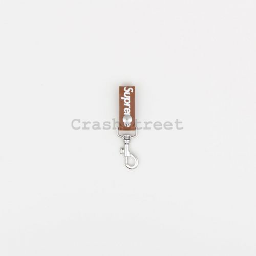 Leather Key Loop in Brown