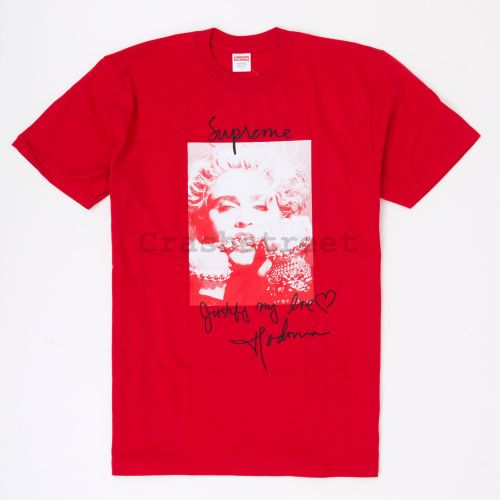 Madonna Tee in Red
