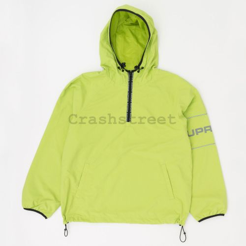 Ripstop Hooded Pullover - Green