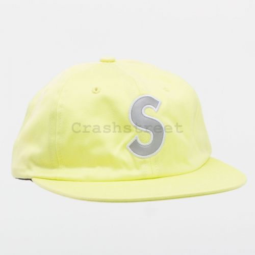 3M Reflective S Logo 6-Panel in Lime