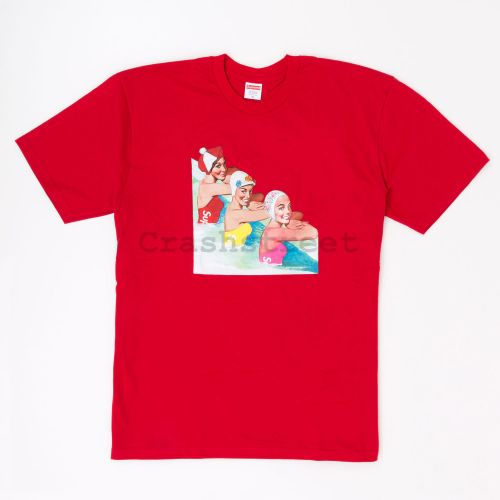 Swimmers Tee in Red