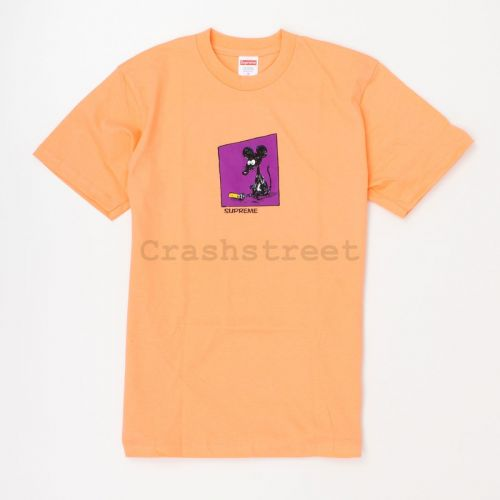 Mouse Tee in Peach