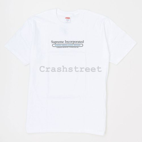 Inc. Tee in White
