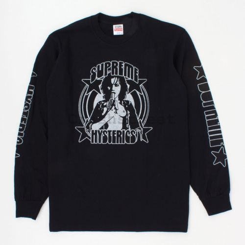 Hysteric Glamour LS Tee in Black