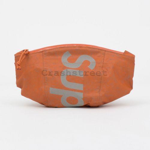 Waterproof Reflective Speckled Waist Bag - Orange