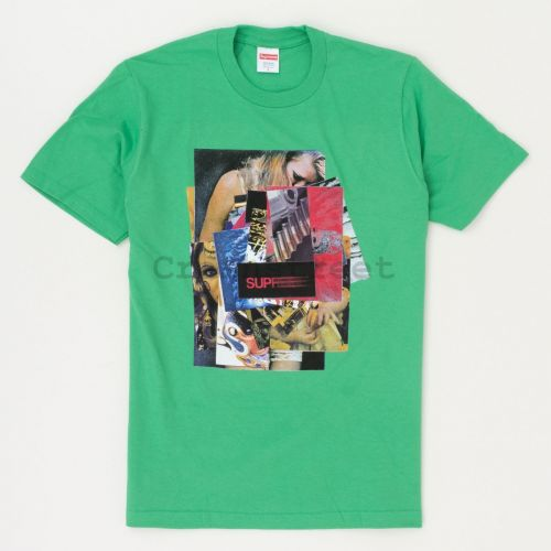 Stack Tee in Green