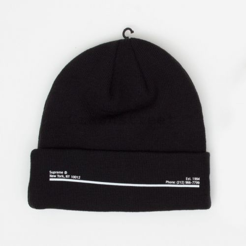 New Era Shop Beanie - Black
