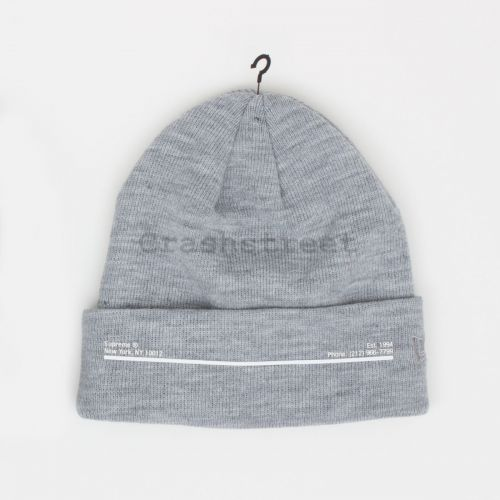 New Era Shop Beanie - Grey