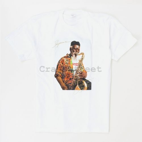 Pharoah Sanders Tee in White