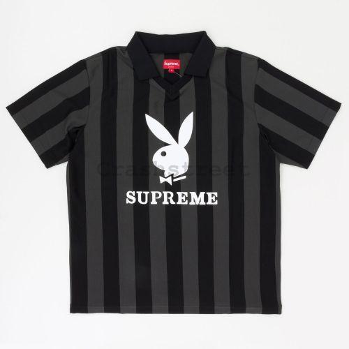 Playboy Soccer Jersey in Black