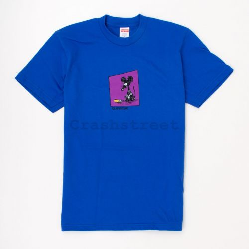 Mouse Tee in Royal