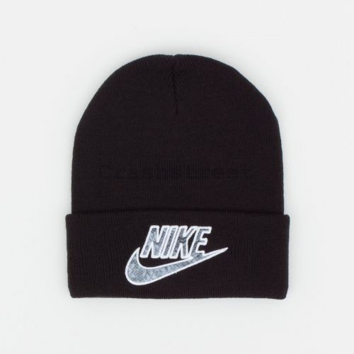 Nike Snakeskin Beanie in Black