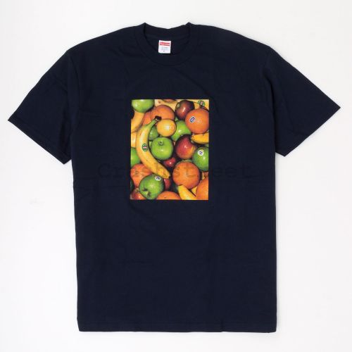 Fruit Tee - Navy