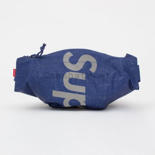 Waterproof Reflective Speckled Waist Bag - Royal