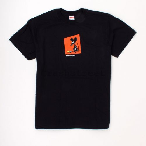 Mouse Tee in Black