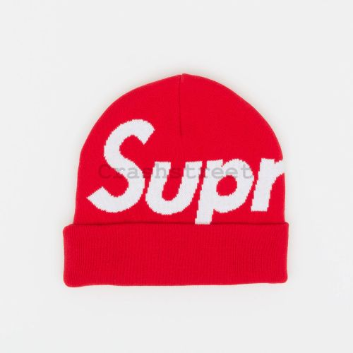 Big Logo Beanie - Red