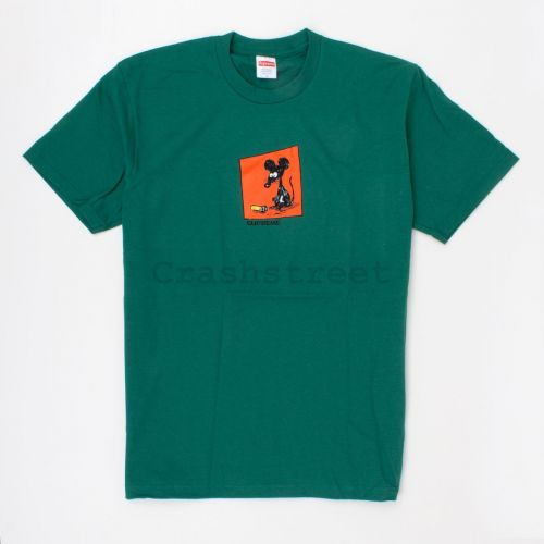 Mouse Tee in Green