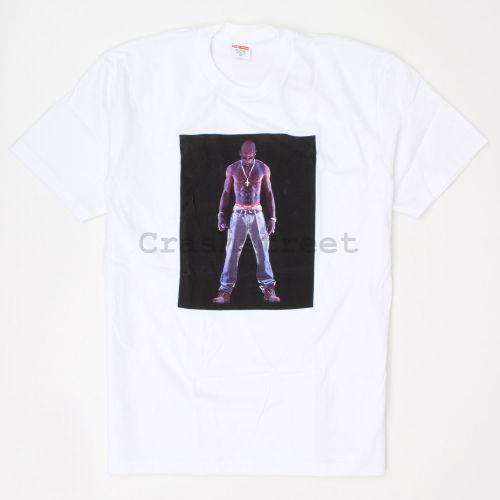 Tupac Hologram Tee - White