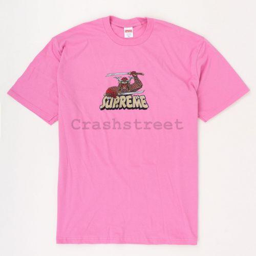 Samurai Tee in Pink