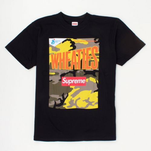 Wheaties Tee in Black